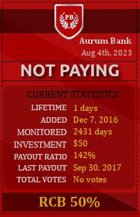 pbhyips.info - hyip aurum bank