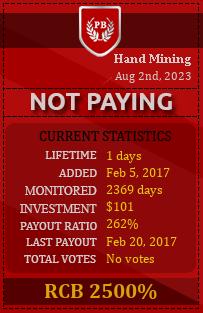 pbhyips.info - hyip hand mining